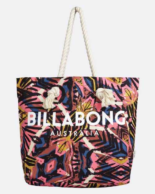 BILLABONG WOMENS BAG.NEW ESSENTIALS TOTE SHOULDER BEACH ROPE HANDBAG 8S 9 1573